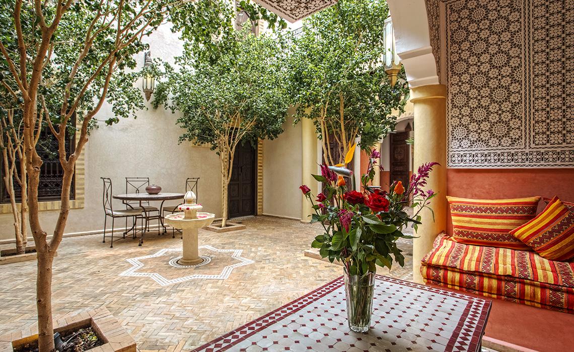 Riad à Marrakech Medina